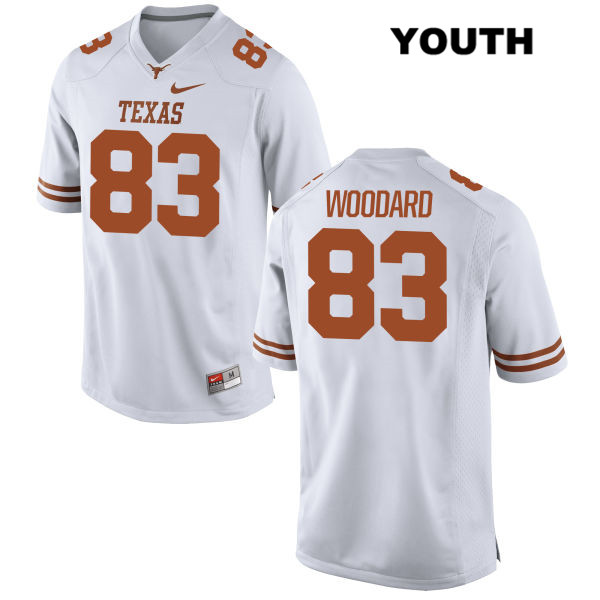 Al'Vonte Woodard Nike Texas Longhorns Stitched no. 83 Youth White Authentic College Football Jersey - Al'Vonte Woodard Jersey