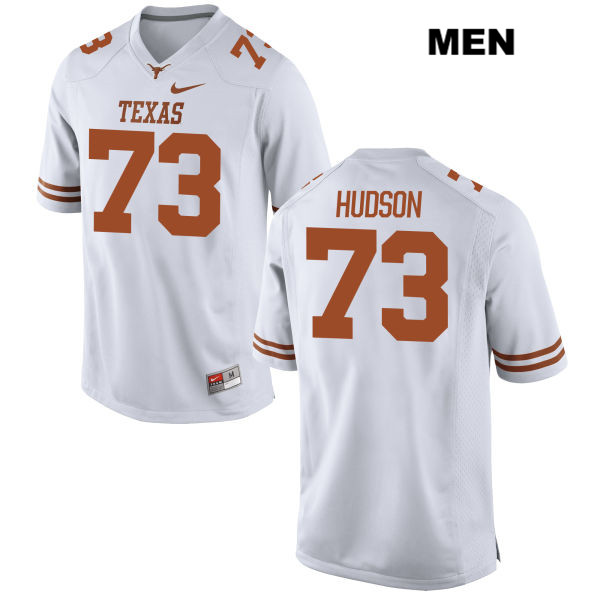 Patrick Hudson Texas Longhorns no. 73 Nike Stitched Mens White Authentic College Football Jersey - Patrick Hudson Jersey